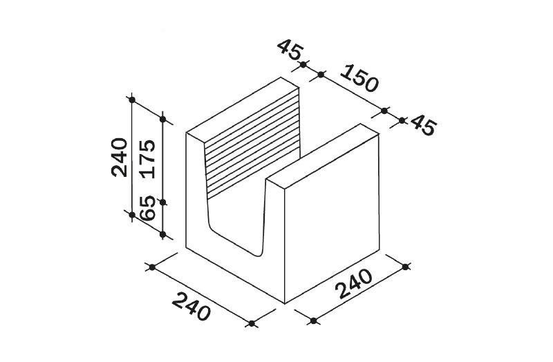 Häufig Dennert Baustoffe: Dennert Kalksandsteine KS XC09